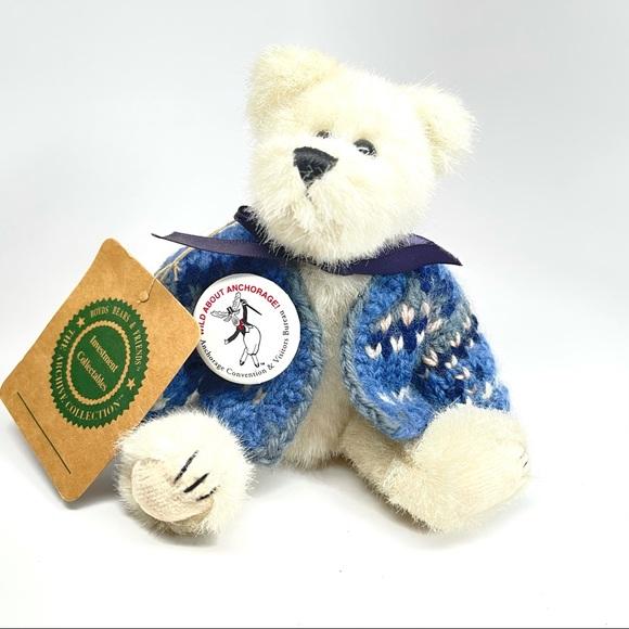 Retired 1992 Boyds Bear Plush Wild About Anchorage